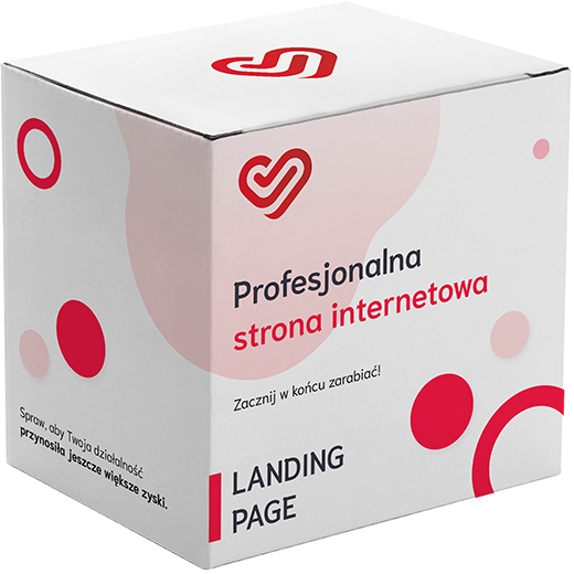 Profesjonalna strona internetowa - landing page