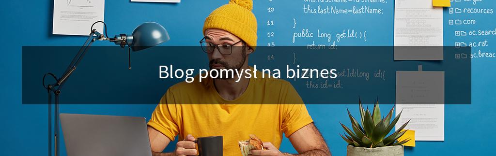 Blog pomysł na biznes